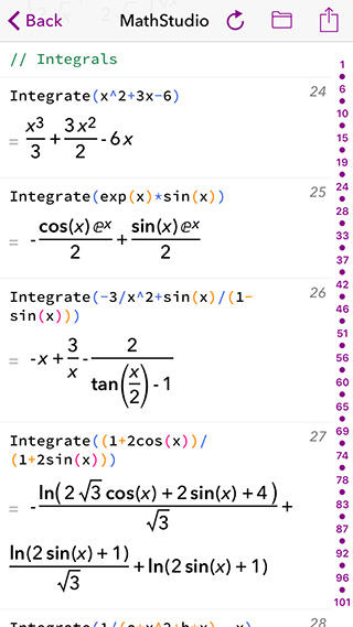 MathStudio for iPhone, iPad, Mac and the Apple Watch