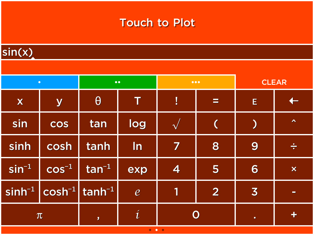 Solve - A colorful graphing calculator for iPhone, iPad and
